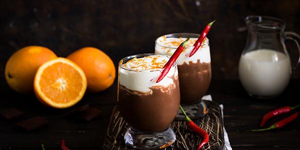 какао з перцем чилі та ромом