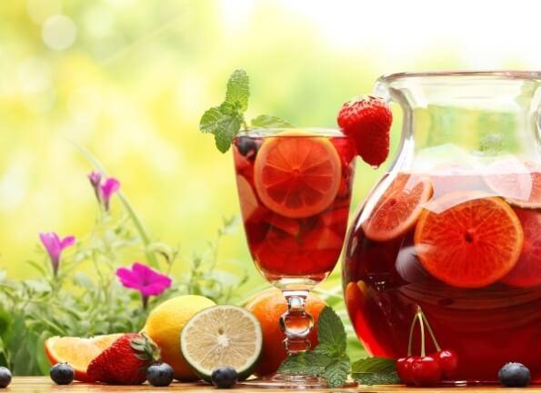Компот из замороженных ягод на сахарном сиропе