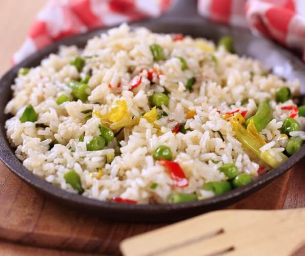 Рис з овочами в українській кухні