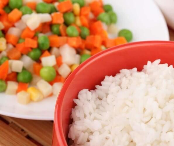 Рис з овочами, рецепт в мультиварці