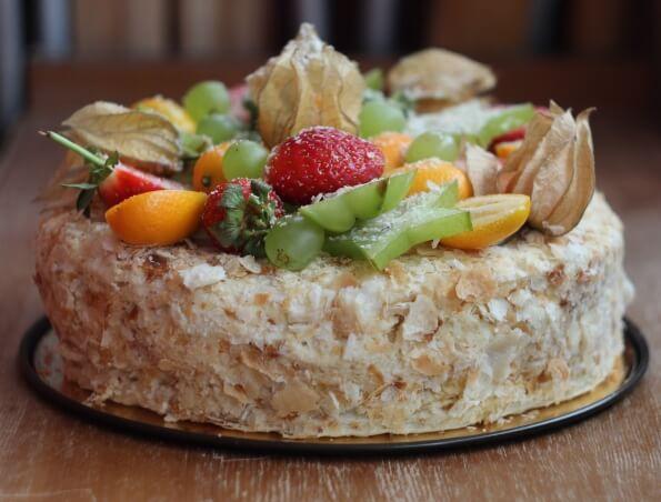 как приготовить торт Наполеон вкусно