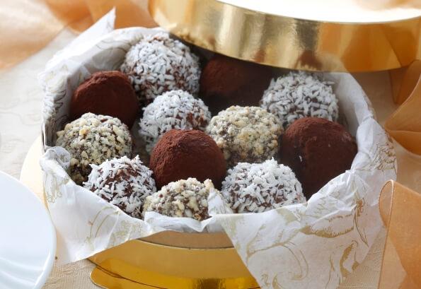 творожные шарики-конфеты