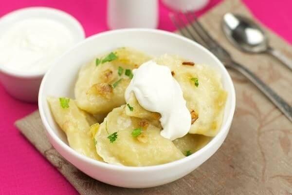 Рецепт вареників з картоплею